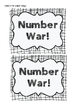 Comparing Numbers: Number War (Multiple Versions, Single t