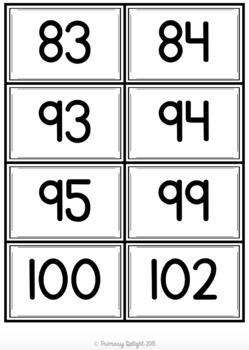 Number War to 120 (A Number Sense Game)