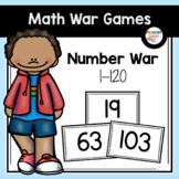 Number Recognition Game with Numbers to 120   Number War to 120
