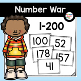 Number Recognition Game with Numbers to 200 | Number War to 200