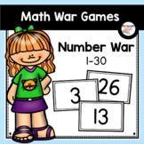 Number Recognition Game   Number War to 30