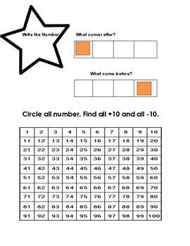 Number Warm-Up Activity