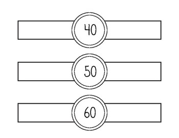 Number Watches ( Counting by tens)