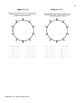 Number Wheel Addition and Multiplication Grades 3 and 4