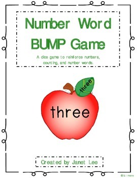 Number Word BUMP Game