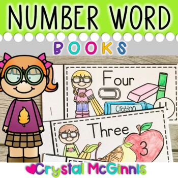 Number Words Books for Guided Reading (Predictable Text for Beginning Readers)