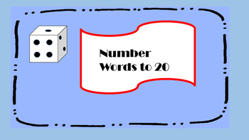 Number Word Dice Roll