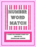 Number Word Match Game