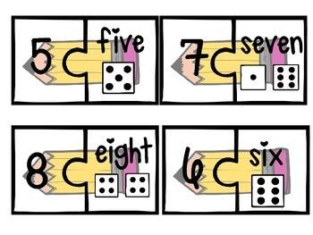 Number Word Match {September}