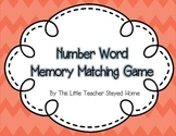 Number Word and Ten Frame Memory Game