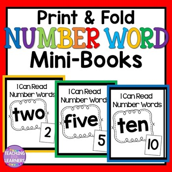 Number Word Mini-Books