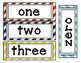 Number Word Posters