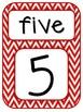 Number Word Posters Freebie