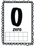 Number Word Posters with Tens Frame 0-20 and Multiples of