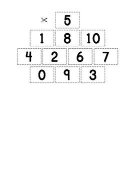 Number Word Practice Bundle 0-20