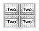 Number Word Punch Cards (Fine Motor Activities)