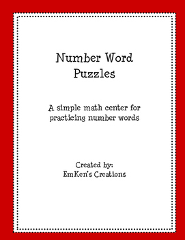 Number Word Puzzles