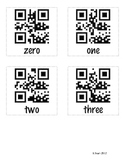 Number Word QR codes
