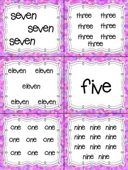 Number Word Read, Write, and Count the Room {Literacy and Math} {CCSS}
