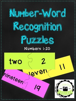 Number-Word Recognition Puzzles