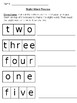Number Word Review