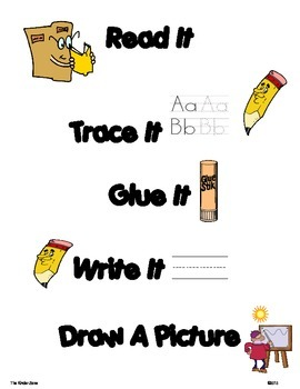 Number Word Sentence Building Activities ** Read, Trace, Build, Write It!