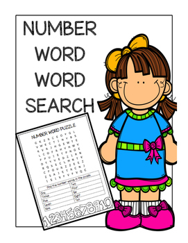 Number Word Word Search