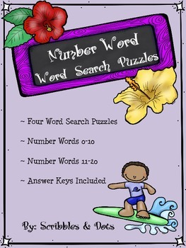 Number Word - Word Search Puzzles