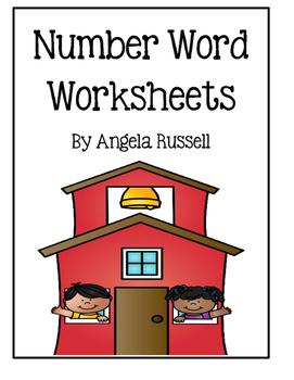 Number Word Worksheets