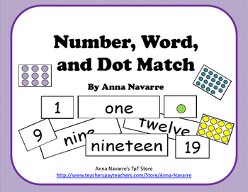 Number, Word, and Dot Match