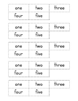 Number Word to Number Matching