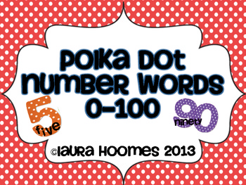 Number Words 0-100