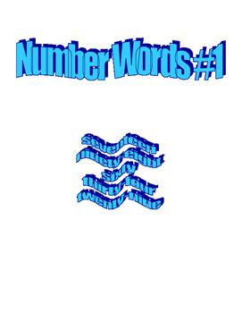 Number Words #1