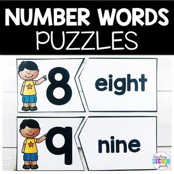 Number Words 1-20