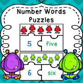 Kindergarten Numbers 1-20 Counting Objects to 20 Numerals Number Word Match Game