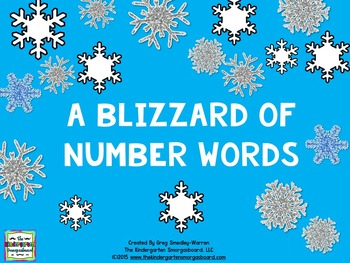 Number Words:  A Blizzard Of Number Words