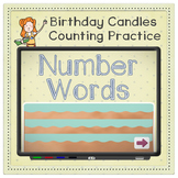 Sight Word Number Words Review with Animated Counting Prac