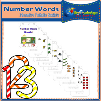 Number Words Booklet
