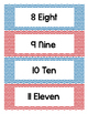 Number Words Chart / Poster Free!!