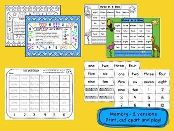 Number Words - Games