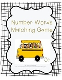 Number Words Matching Game