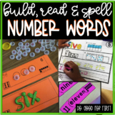 Number Words Pack! {Build, Spell and Read!}