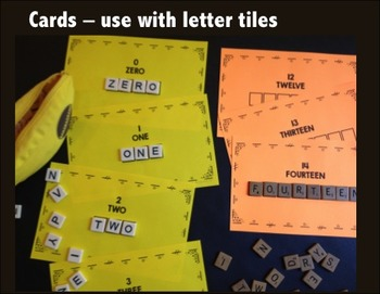 Number Words Spell and Stamp