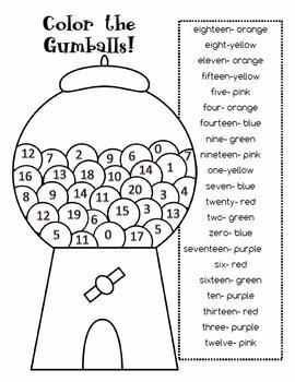 Number Words: Unit using words zero-twenty
