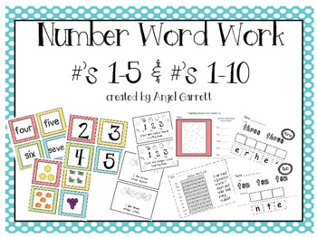 Number Words Work to 10!