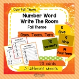 Number Words Write The Room 1-100