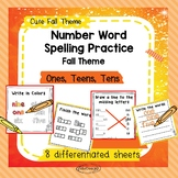 Number Words Spelling Practice 1-100