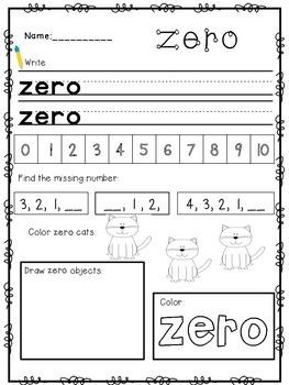 Number Words (ZERO-TEN)