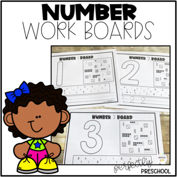 Number Work Boards