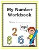Number Workbook Numbers 0-10